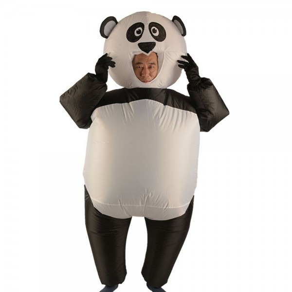 New Style Inflatable Panda Costume For Women Men Cosplay Costume