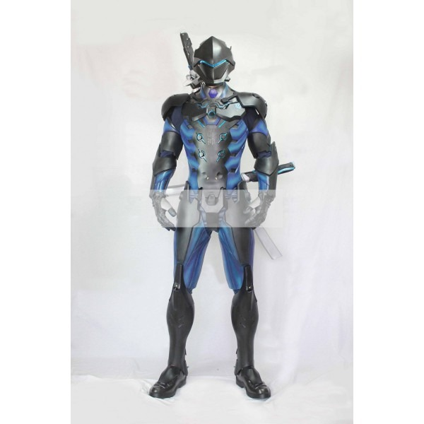 Overwatch Genji Carbon Fiber Skin Cosplay Armor Buy