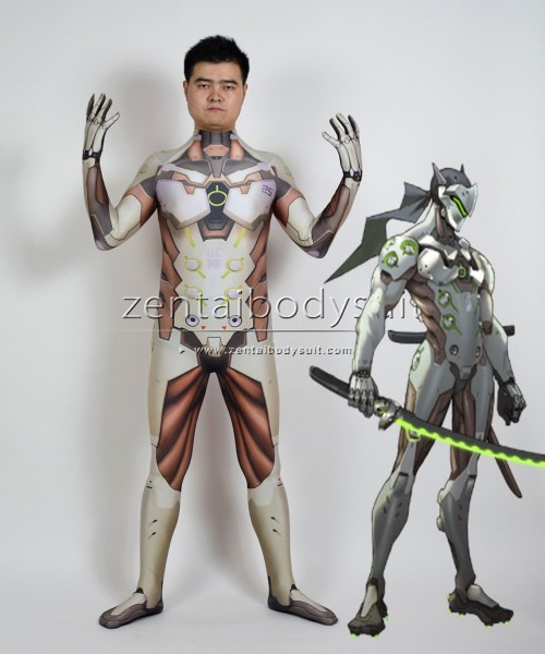 Overwatch Genji Cosplay Heroes Costume