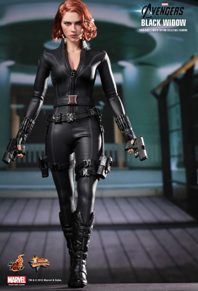 Black Widow Avengers Costume Accessories Hot Toys The Avengers Best Party Supply