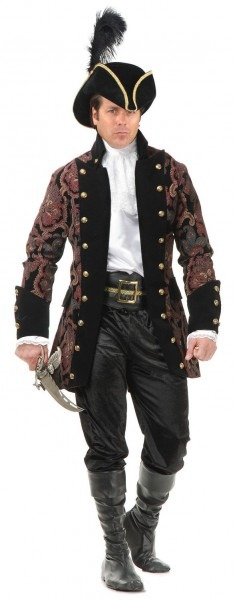 Pirate Costumes Male & Mens Rogue Pirate Costume Sc 1 St Halloween