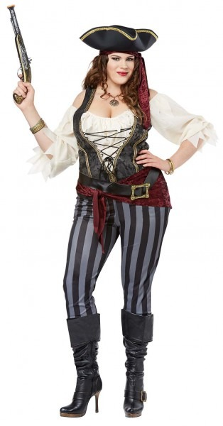 Plus Size Brazen Buccaneer Pirate Costume