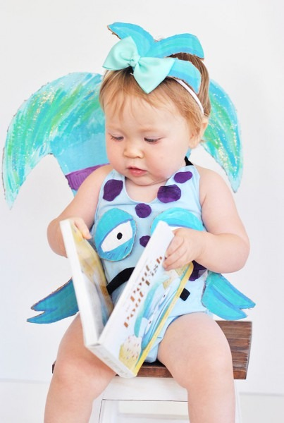 Diy The Pout Pout Fish Baby Halloween Costume [inspired By The