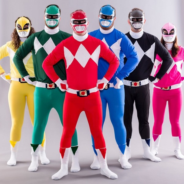 Grab Your Squad And Diy This Classic '90s Power Rangers Costume