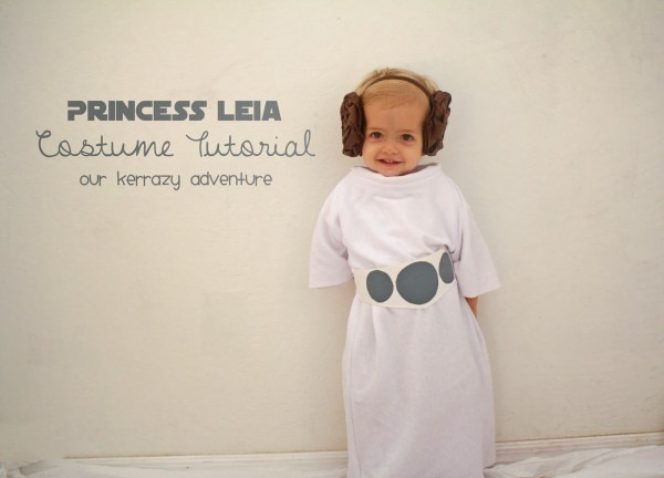 Princess Leia Costume Tutorial