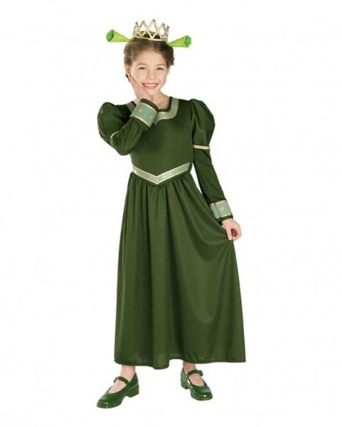 Princess Fiona Kids Costume
