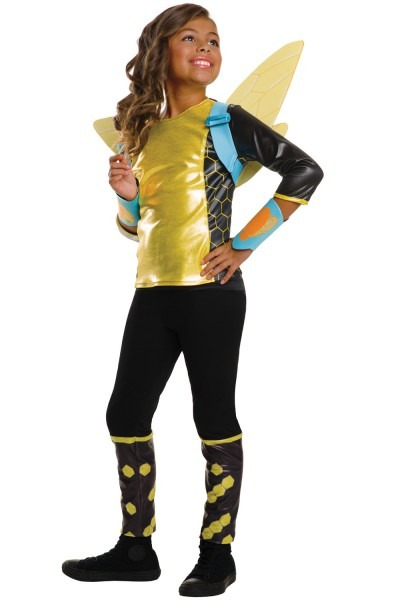 Dc Super Hero Girls Deluxe Bumblebee Child Costume