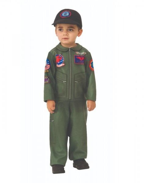 Top Gun Boys Navy Fighter Jet Pilot Toddler Halloween Costume