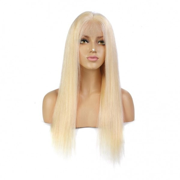 Lin Man  Blond 13x6 Lace Front Wigs With Baby Hair 130 Density