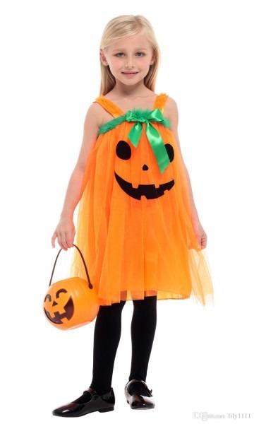 Shanghai Story Halloween Princess Costume Pumpkin Witch Cosplay