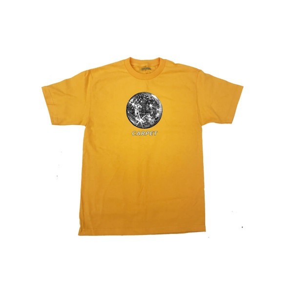 Carpet Glitter Disco (gold) Tee Shirts At Embassy