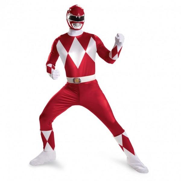 Red Power Rangers Super Deluxe Costume