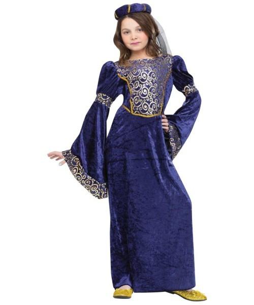 Renaissance Maiden Kids Costume