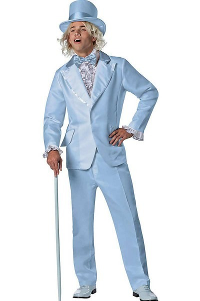 Dumb And Dumber Harry Blue Tuxedo Costume, Tuxedo Jacket, Matching