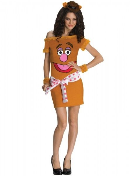 Adult The Muppets Fozzie Bear Women Costume