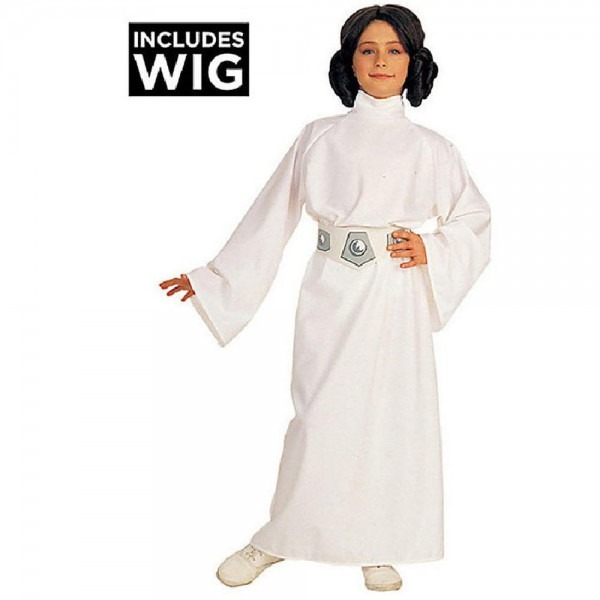 Rubie's Costumes Deluxe Princess Leia Child Costume