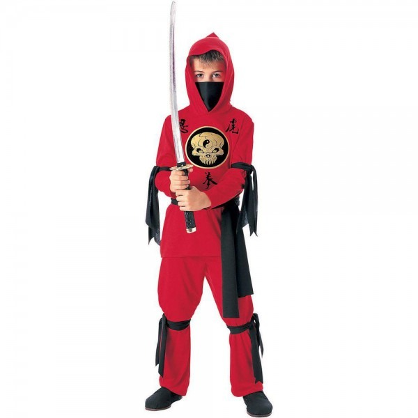 Rubie's Costumes Red Ninja Child Costume