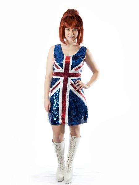 Ginger Spice Girls Costume