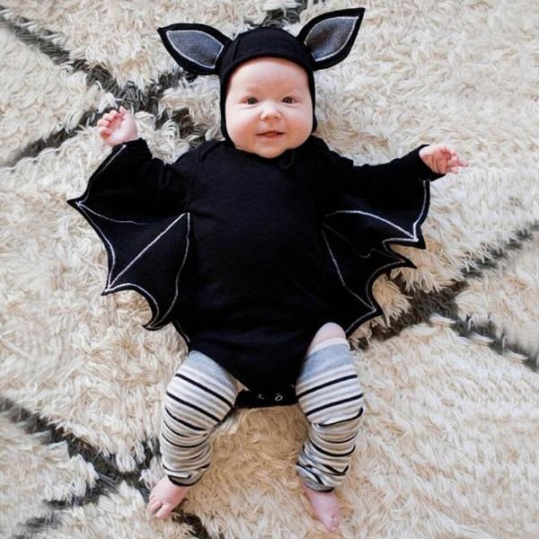 Vampire Bat Costume For Baby Girl Boy Halloween Cosplay Party