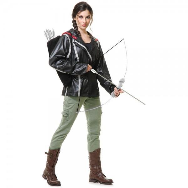Katniss Everdeen Costume Adult The Hunger Games Halloween Fancy
