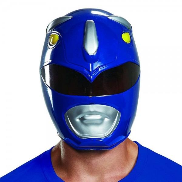 Blue Ranger Mask Mighty Morphin Power Rangers Halloween Adult