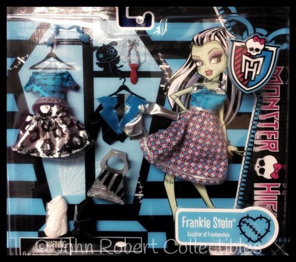 Monster High Frankie Stein Clothing Pack Nrfb   Y0406