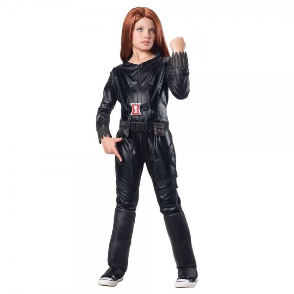 Black Widow Child Costume The Avengers Halloween Fancy Dress