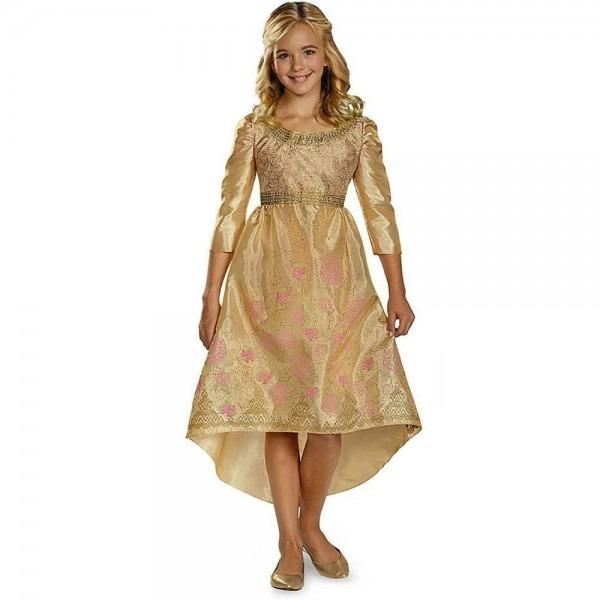 New Disney Maleficent Aurora Coronation Gown Dress Size M 7 8