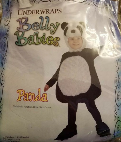 Halloween Fancy Costumes Toldder Panda Brear Costume Complete