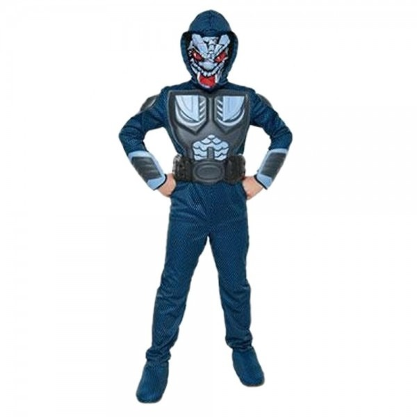 Combat Cobra Costume Gi Joe Halloween Fancy Dress