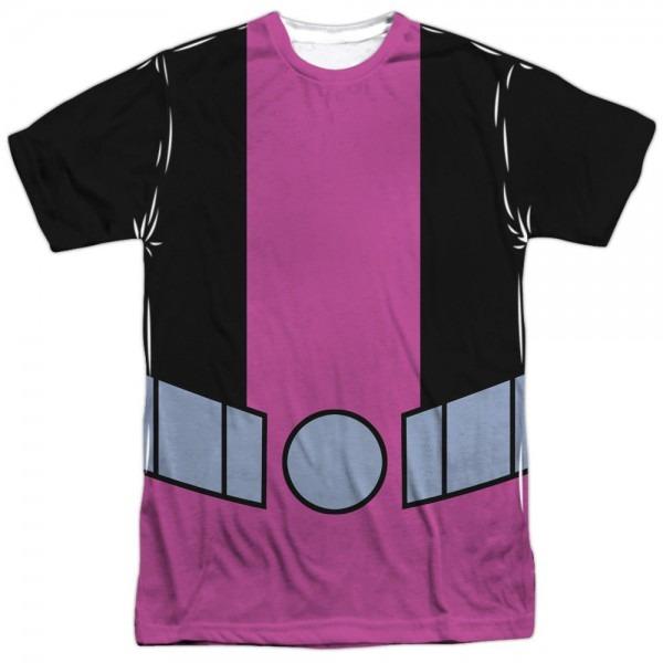 Teen Titans Go Beast Boy Costume Front Print Halloween Men's Tee