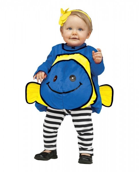 Toddler Infant Baby Blue Fish Finding Dory Nemo Halloween Cosplay
