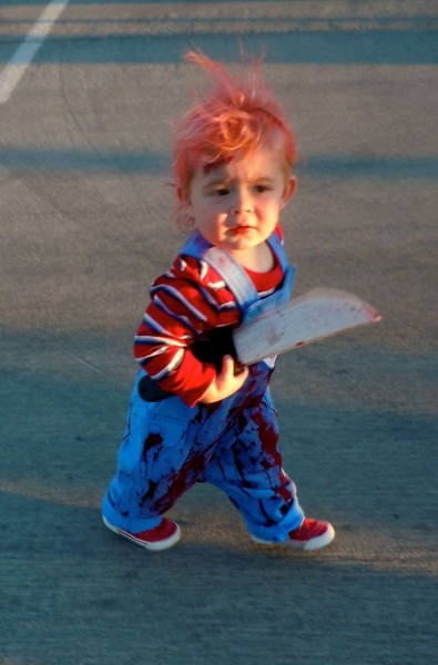 Scary Little Chucky Kids Halloween Costume Kids, Scary Costume