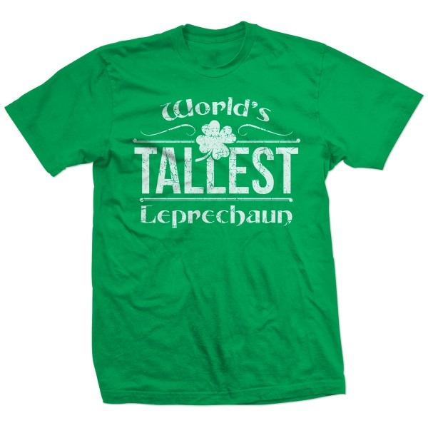 World's Tallest Leprechaun St  Patrick's Day Love T