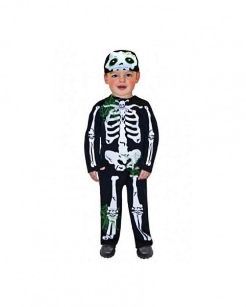 Skeleton Costume Toddler Cute Halloween Kids Costumes