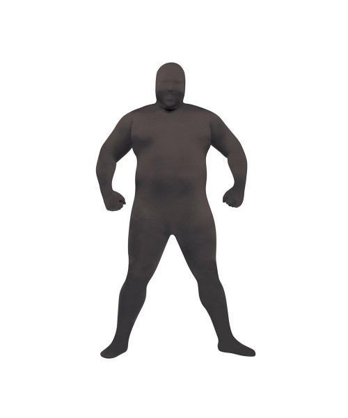 Black Skin Suit Plus Size Costume
