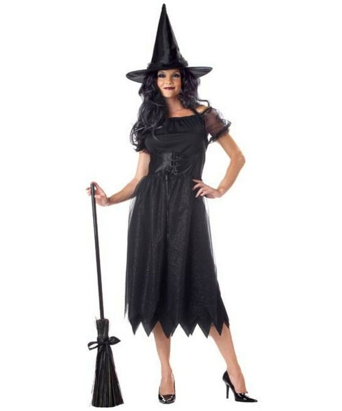Adult Sparkle Witch Halloween Costume