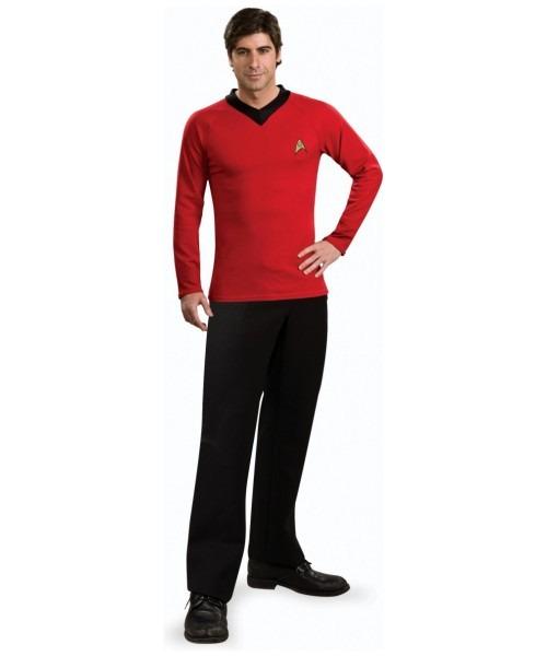 Adult Star Trek Red Shirt – Movie Costume