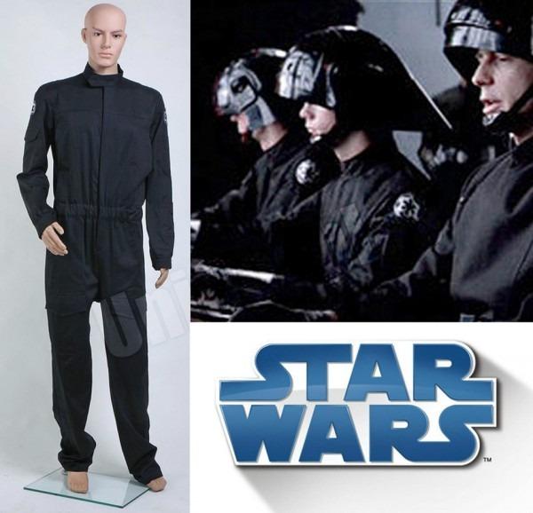 Star Wars Imperial Flightsuit Cosplay Costume Pilot Jumpsuit