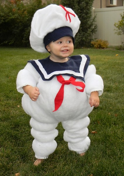 Marshmallow Man Costume For Kids & Diy Girly Marshmallow Man