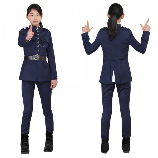 Super Police Costume For Kids Children Police Officer Top Pants