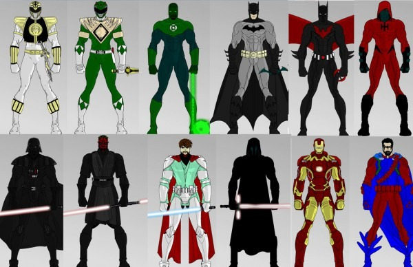 Superhero Creator 2 0  Male Dress Up Game By Jtmovie On Deviantart