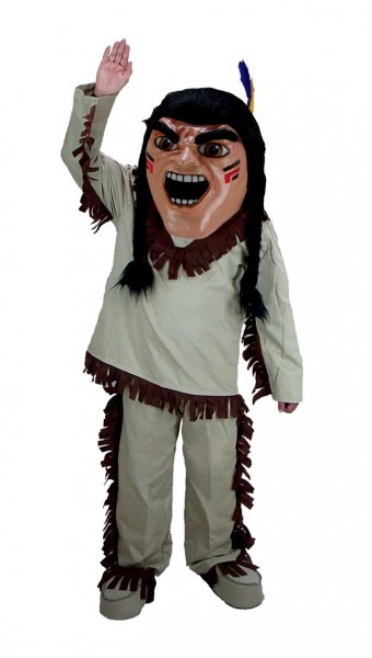 Buy Brave Indian Mascot Native American Costume T0302 Mask Us From