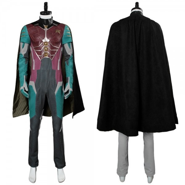 Teen Titans Cosplay Dick Grayson Robin Costume Men Dc Superhero