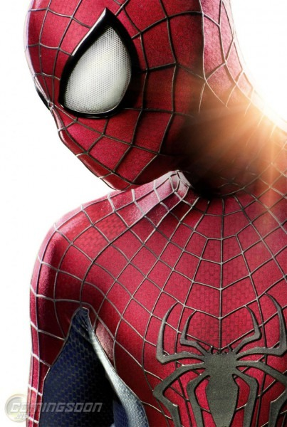 Here's The New Suit For 'the Amazing Spider