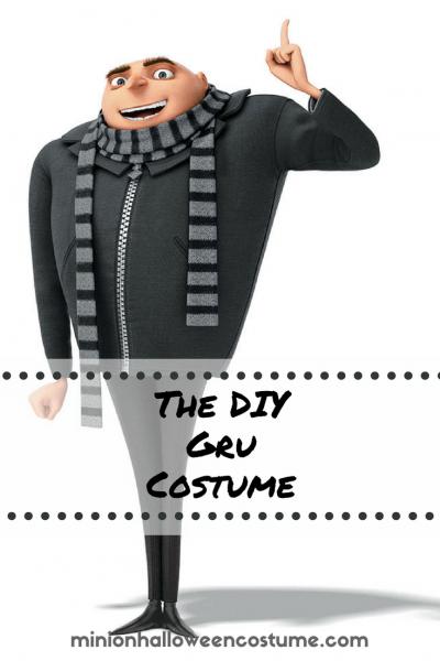 Despicable Me Gru Costume