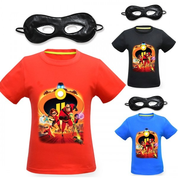 The Incredibles Baby Girls Clothes Hot Sale T Shirts Boys Clothes
