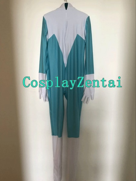 The Incredibles Frozone Costume Spandex Fullbody Hot Sale