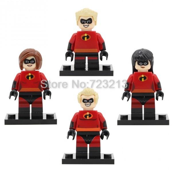 The Incredibles Single Sale Cartoon Movie Figure Set Bob Dash
