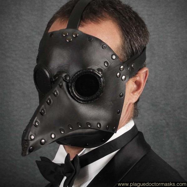 Black Death Mask, Plague Doctor Mask For Sale, Halloween Beak Mask